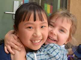 Year 5 and Kindergarten Buddies