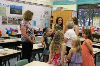 Mrs Irvine's class