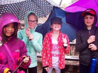 2018 Yr 4 Camp Umbrellas