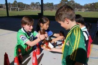 Defibrillator fundraiser - sauces for sausage sizzle