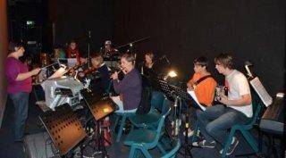 Joseph final show - Band