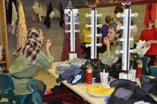 Joseph final show - Stage makeup