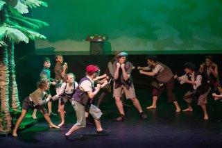 Peter Pan - Lost Boys Gang fighting