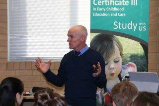 Mr Tony Davies, VET Coordinator