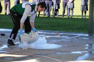 Mr Daniel Kneebone - Science dry ice experiment