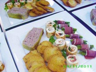 Hospitality - Delicious entreés