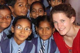 India Mission 2011 - Good Shepherd School students